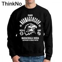New Arrival MMA UFC Khabib Nurmagomedov Sweatshirt Boy Anime Camiseta Cotton Free Shipping Hoodies