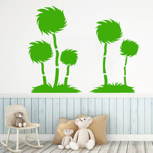 Luxuriant tree Wall Art Decal Decoration Fashion Sticker For Kids Rooms Nursery Room Decor Pvc Decals Living Mural