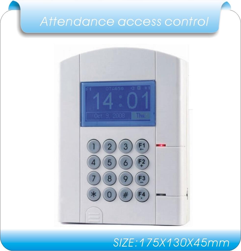 все цены на lithium battery blue LCD U-disk download data RFID Time Attendance, time clock & access control system employee time clock онлайн