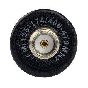 Image 5 - Antena RHD 701 SMA F retevis, vhf/uhf banda dupla para baofeng UV 5R BF 888S retevis h777 rt6 RT 5R walkie talkie c9045a