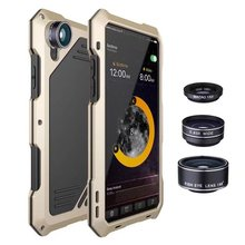 Adtismark Phone Case For iphone X Lover Touring Accessories Fish Eye Wide Angle Macro Lens For iphone x Free Shipping цена