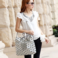 Japanese Style Famous Brand Designer Handbag BAOBAO Woman Luminous Sequins Handbags Issey Shoulder Bags Miyake Bolsos De Mano