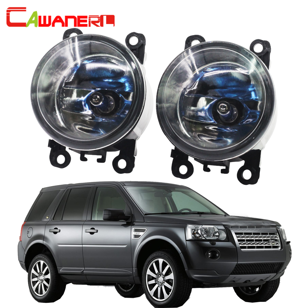 Cawanerl 100W Car Halogen Fog Light Daytime Running Lamp For Land Rover Freelander 2 LR2 FA_ Closed Off-Road Vehicle 2006-2014