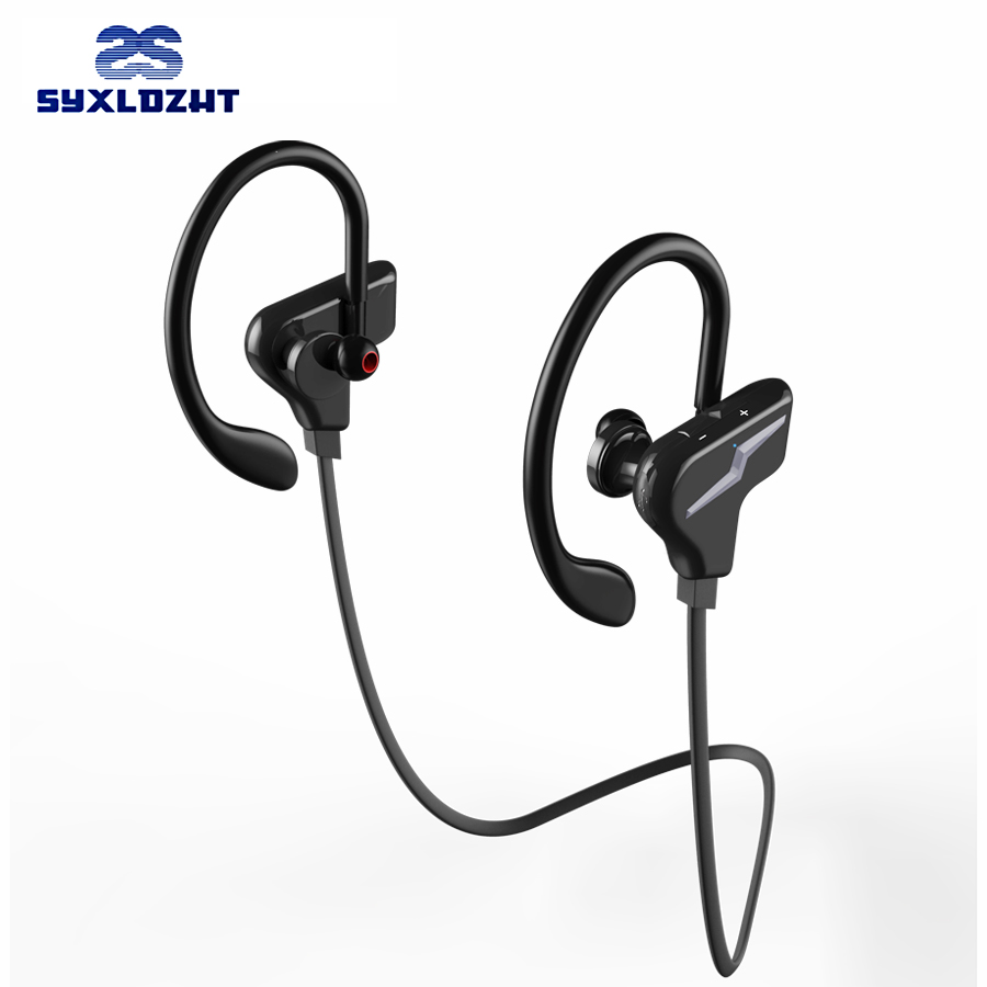 SYXLDZHT Sport Wireless Bluetooth Earphones Headphone Stereo Headset Blutooth Earbuds With Mic fone de ouvido For phone sport wireless earphone headphone earphones headphones headset music mp3 player tf card earbuds fm radio fone de ouvido l3fe
