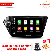 Andream 9 #8243 Built-in carplay Car Multimedia Player Radio GPS Navigation for KIA RIO 3 sedan K2 no dvd 2din IPS Scree Android 8 1 cheap One Din 4*45W 128G JPEG PCBA 1024*600 3 5kg FM Transmitter Radio Tuner Built-in GPS MP3 Players Mobile Phone Touch Screen