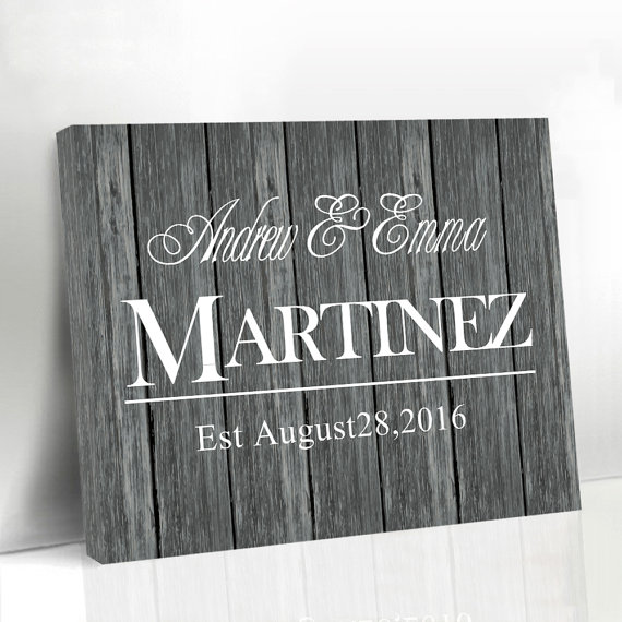 We Got Marring Custom Name & Date Rustic Wedding Canvas Guest Book Sign In Signature Book for Engagement Significant Date Decor