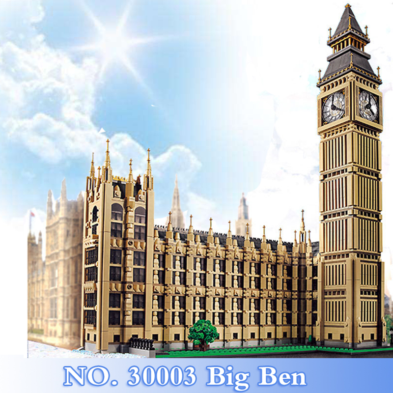 2018 New City Creator Series 4164Pcs Big Ben Figures Building Blocks Bricks Set Children Toys Model Kits Gift Compatible 10253 10646 160pcs city figures fishing boat model building kits blocks diy bricks toys for children gift compatible 60147