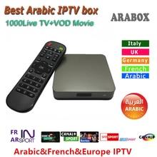 2017 Best Арабский IP ТВ коробка с арабскими подписки, арабский АПК бесплатно смотреть один арабский ТВ, спорт, африка, Religion каналов