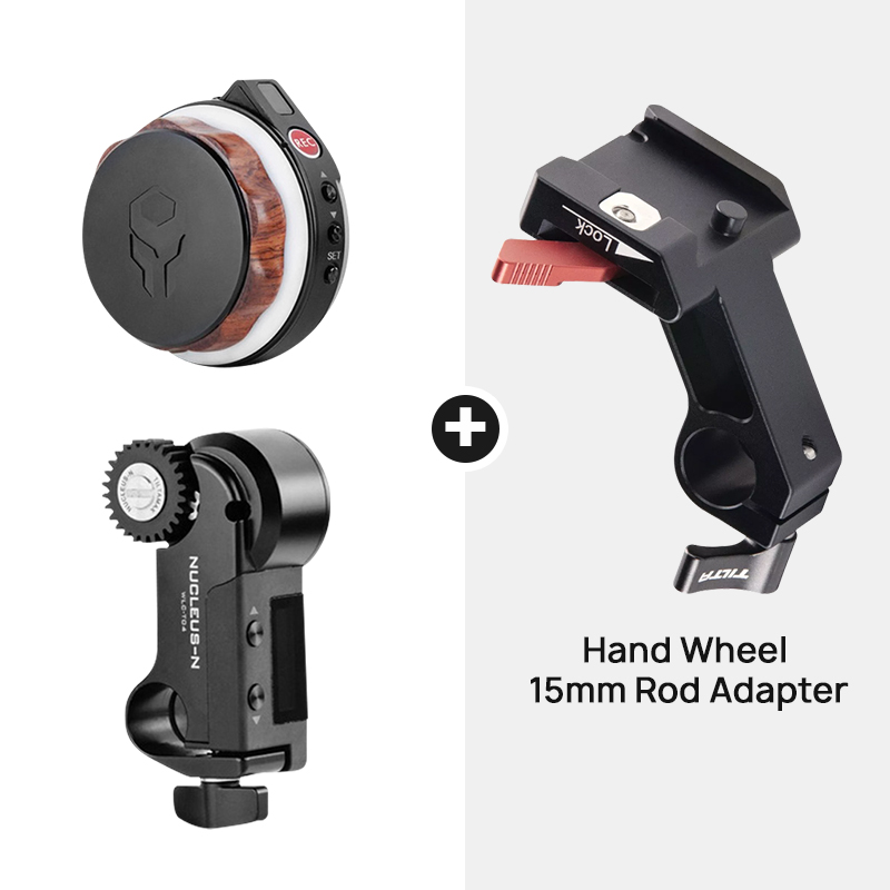 Tilta Nucleus Nano N Wireless Follow Focus Motor Hand Wheel Controller Lens Control System for gimbal