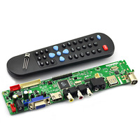 V29 Universal LCD Controller Board TV Motherboard Free Program Version