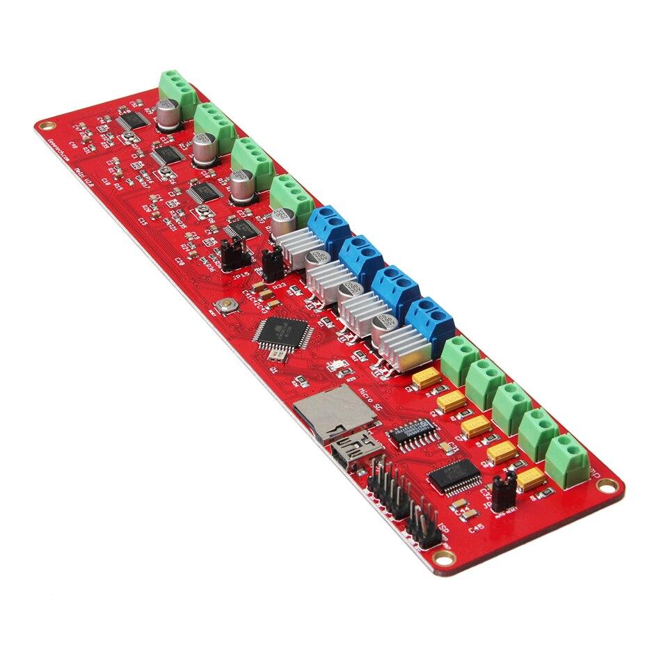 Précis! carte de commande d'imprimante 3D Geeetech Reprap 12 V Melzi V2.0 ATMEGA1284P 4 A4988 pour Arduino