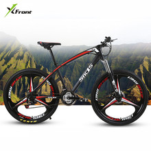 New brand Carbon Steel Frame Mountain Bike 26 Inch Wheel 21/24/27 Speed Disc Brake Outdoor Downhill