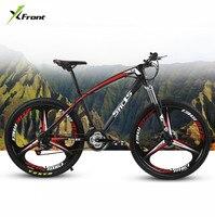 New Brand Carbon Steel Frame Mountain Bike 26 Inch Wheel 21 24 27 Speed Disc Brake