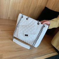 Big Capacity Diamond Lattice Thread Chain Designer Handbag Casual Totes Bag Women Crossbody Bag Female Shoulderbag #1086