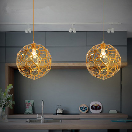 40cm Post Modern Ball Pendant Light Creative Hollow Iron Hanging Lamp Fixtures For Home Lightings Cafe Bar Lamparas Lampen creative iron loft style pendant light glass droplight concise hanglamp fixtures for home lightings bar cafe lamparas colgantes