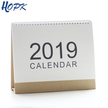 2019 Planner Table Calendar for Weekly Monthly Plan To Do List Desk Calendar Daily Schedule Agenda Organizer MUJI Style