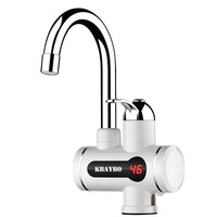 Instant Water Heater Electric Faucet 3000W Kitchen Bathroom Hot Water Heating Tap Tankless Water Heater With