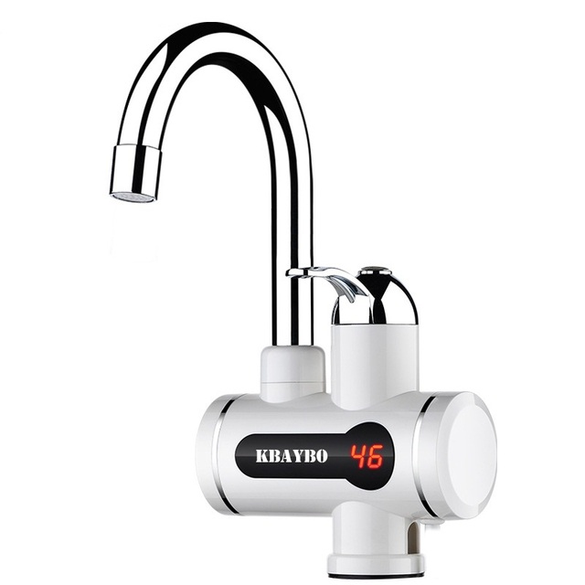 Instant Water Heater Electric Faucet 3000W Kitchen/bathroom Hot Water  Heating Tap Tankless Water