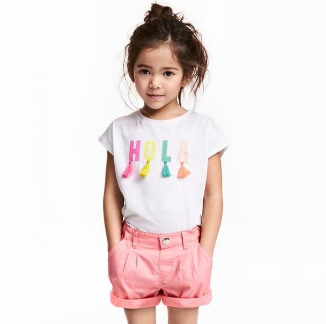 Girl's HOLA shirt