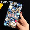 "Glitter Bling 3D Diamond Crystal Clear Hard Plastic Back Case Cover For Samsung Galaxy J5 2016 J5108 5.2"" Capa Funda"