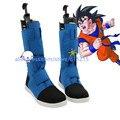 Dragon Ball Son Goku Cosplay azul Botas zapatos bota zapato de Halloween Navidad