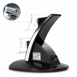 Image 4 - Hot Sale USB LED Light Dual Controller Charging Dock Station Charger For Xbox One Gamepad Game Accessories