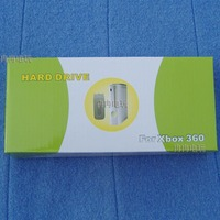 60pcs a lot Repair Part Hard Disk Drive Case HDD Cover Shell Box For Xbox 360 Fat Replacement