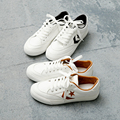 hot Free shipping 2017 spring new fashion women shoes casual PU breathable Korea style simple women casual white shoes sneakers