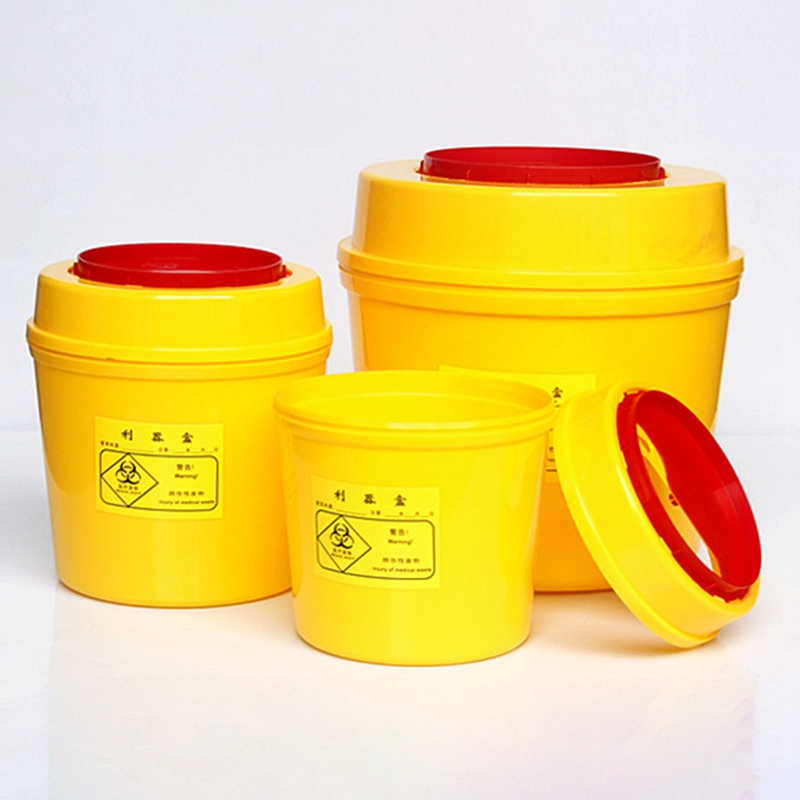 1L,2L,3L,4L,5L,6L,8L,15L Sharps /Needle Bin Box,  Waste, Lightweight Compact Travel