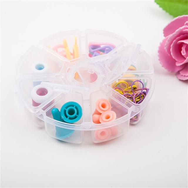 1Pc High Quality 89pcs Needles Knit Fine Knitting Needles Set Household Sewing Kit