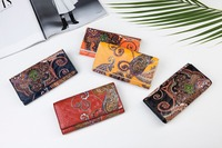 2018 New Arrival Fashion Lady Wallet Women S Purse National Style Genuine Leather Large Capacity Wholesale