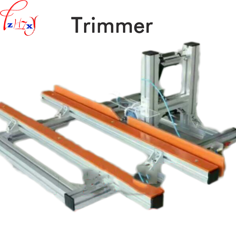 Desktop woodworking trimming machine electric board trimmer edge cutter machine woodworking trimmer machinery 220V 400W japan alloy steel trimming knife woodworking tool pvc trimming knife specialty edge banding trimmer