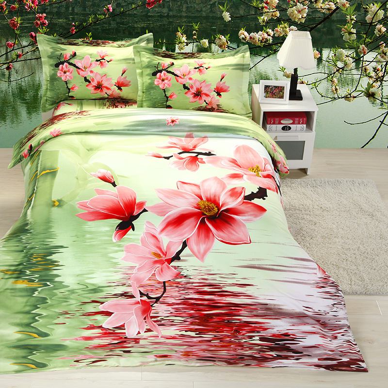 rose fleur couette-achetez des lots à petit prix rose fleur
