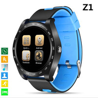 Newest wearable Smart Watch Z1 Support Nano SIM&TF Card With Whatsapp Facebook fitness Smartwatch For Android IOS phone PK V9 Y1