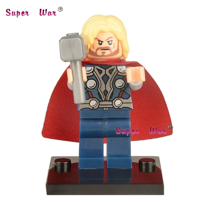 50pcs superhero Thor building blocks action bricks friends for girl boy house games kids children toys