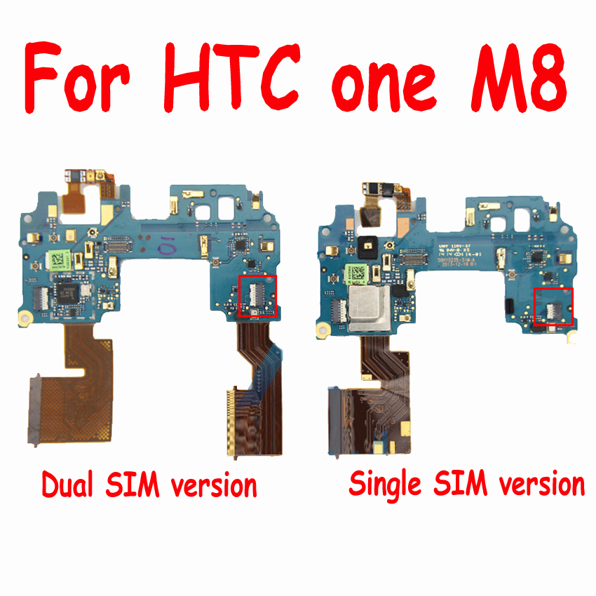 Original For HTC one M8 Main Board MotherBoard <font><b>FPC</b></font> <font><b>Connector</b></font> Main Flex Cable For HTC one M8 Mainboard Flex Cable <font><b>Repair</b></font> Parts image