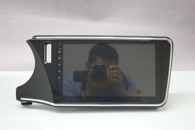 Navirider سيارة مشغل وسائط متعددة الصوت راديو الروبوت 7.1 MP5 1080 وعاء أقراص لهوندا مدينة 2014-autoradio gps WIFI 3 جرام جهاز