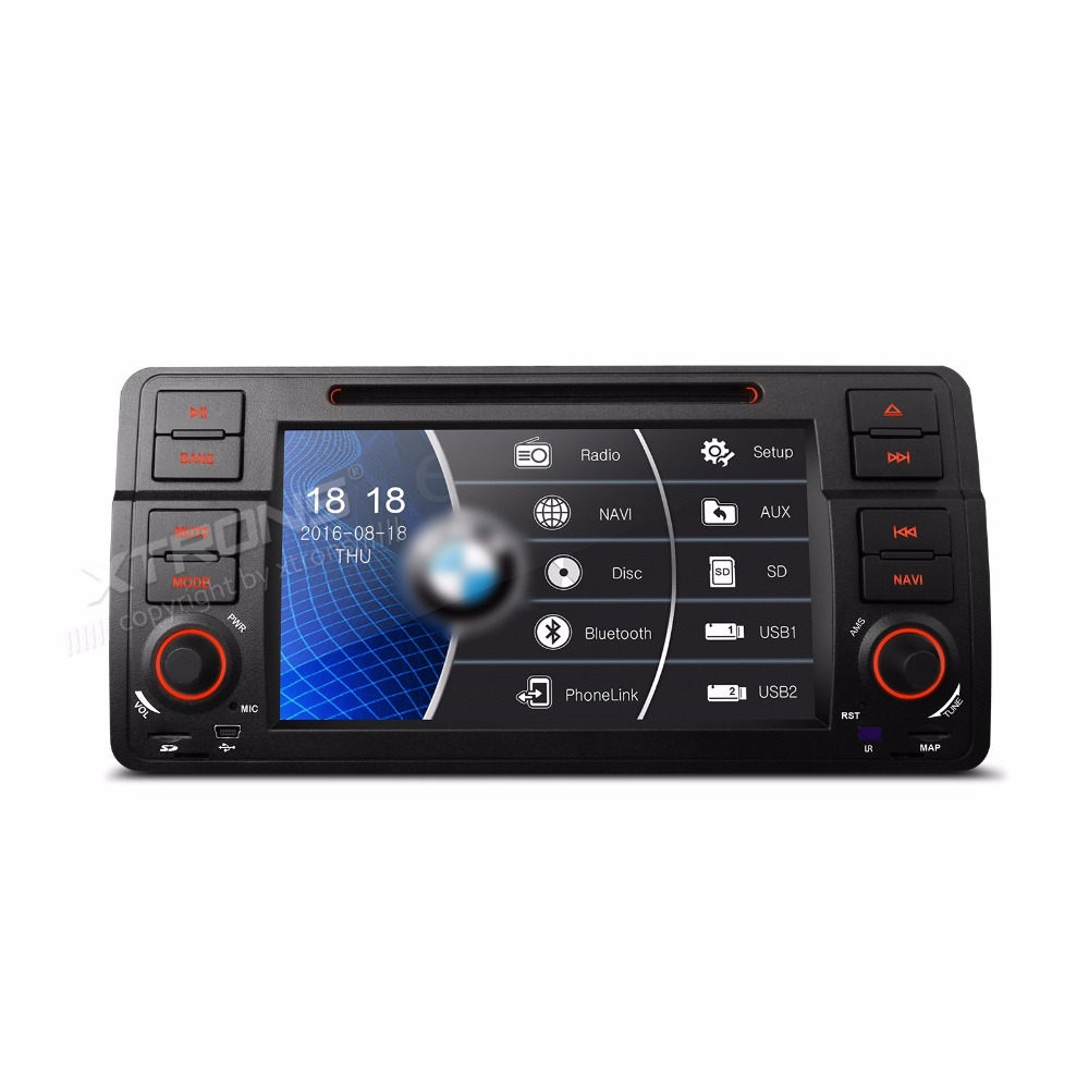 7 inch 1 din WinCE Car DVD Player CANbus GPS Navigation For BMW E46 Sedan Convertible Touring Hatchback M3/Rover 75/MG ZT image