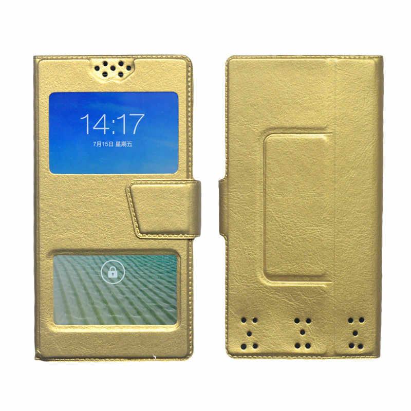 Dower Me Универсальный Флип-кейс из ПУ кожи с двойным окном чехол для Vertex Impress нажмите телефон в наличии N2