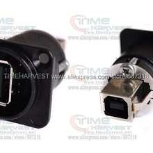 10 шт. Neutrik NAUSB-W-B A B USB пропитка черный для аркадной машины запчасти аксессуары аркадная машина автомат с монетоприемником