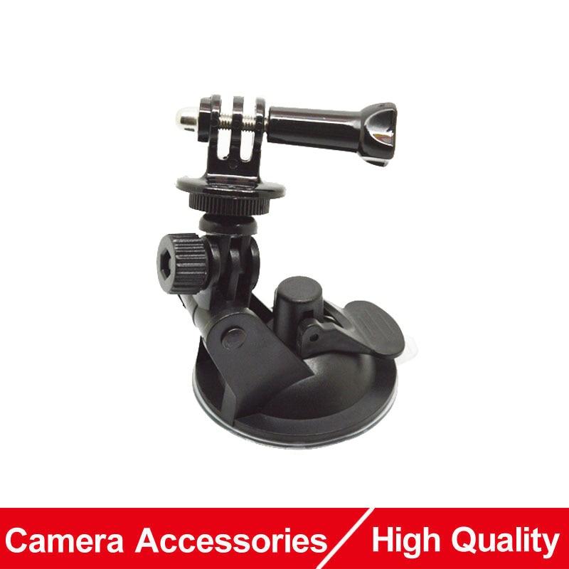 SJ4000 Accessories Tripod mount Mini suction cup for car use 6.5CM diameter base for GoPro Hero 5/4/3+/3/2 SJ4000 SJ4000Wifi