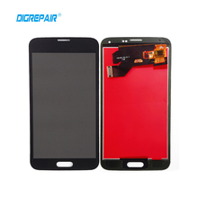 Black For Samsung Galaxy S5 G900A G900F G900P G900T G900V LCD Display Touch Screen Digitizer full Assembly Part,free shipping