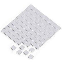 5000 шт 10x10x1мм чип теплоотвода gpu vga xbox360 силиконовая