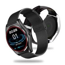 N3 модные деловые Smart Напульсники Часы Bluetooth удаленного вызова напомнить с сердечного ритма Мониторы спортивные Фитнес часы-браслет