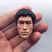 1/6 Bruce Lee Head The Game of Death for Hot Toys Ganghood ZC Dragon Head Sculpt