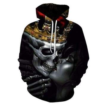 3D Hoodies Men Fashion New 3d Print Skull Hoodie Plus Size Spring Fashion Hip Hop Wears Men Streetwear 1