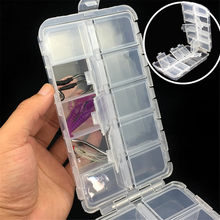 High quality Portable 10/15/20 grid Bait Organizer Box Fishing Lures Case Tackle Storage Fisher Gear Bulk strong plastic(China)