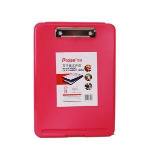Image 5 - Einfache Große Kapazität A4 Datei Ordner Pad Business Aktentasche Dokument Tasche Chemische Fühlte Einreichung Schreibwaren Liefert