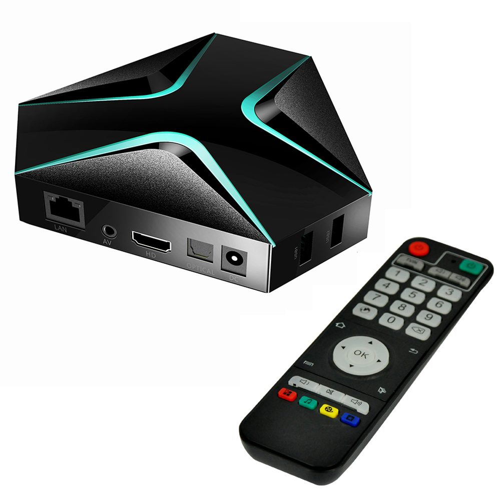 S905X Mini Android Octa Core 64bit 4K HD HDMI 2GB+8/16GB TV BOX with TF Card Slot Dual Wi-Fi Bluetooth Network Media Player стоимость