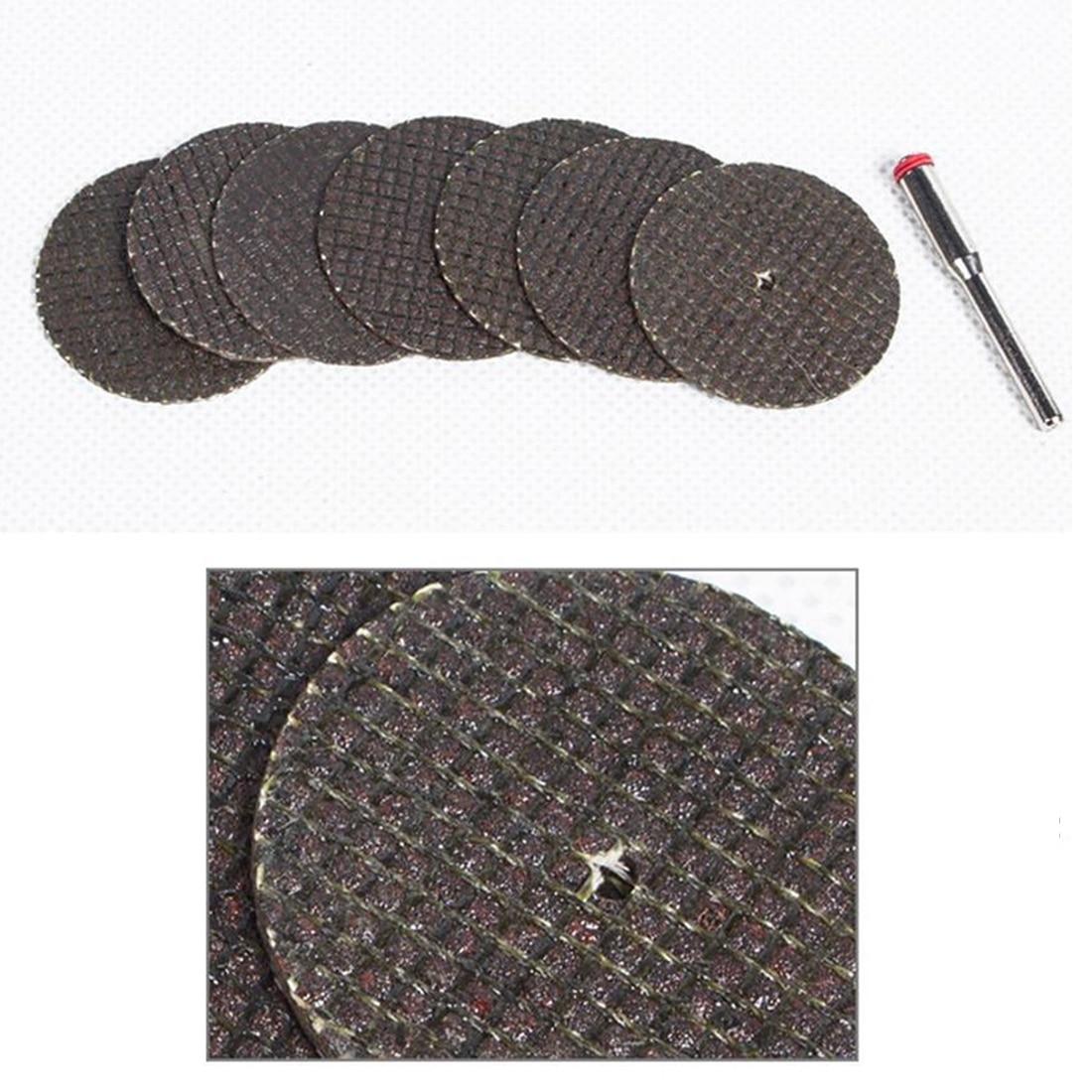 Top Dremel Accessories 30Pcs 32mm Resin Fiber Abrasive Tool Cutting Discs Cut Off Wheel Sanding Discs Rotary Dremel